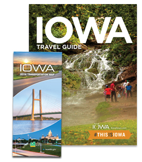 Iowa Travel Guide and Map